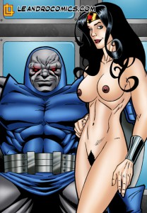 wonder woman and the evil Darkseid sex comics